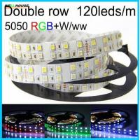 Led Strip Light RGBW Double Row DC12V/24V SMD5050 Flexible Lights RGB+white/warm white no-waterproof 5M 120leds/m Manufactures