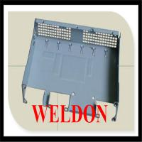 Notching / Punching Stainless Steel custom metal fabrication for Heavy Equipment Manufactures