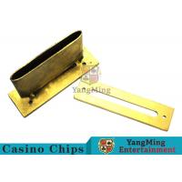 China Roulette / Blackjack Poker Game Accessories Slot Cover Installed On The Table on sale