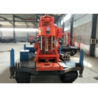 XY-3 Crawler Mounted DTH Drilling Rig / Water Well Borehole Drilling Rig Manufactures