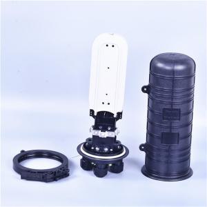 48 Core Fiber Optic Splice Closure Vertical / Dome Type Heat Shrinkable Structure Manufactures