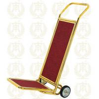 Hotel Luggage Trolley Gold Room Service Equipments 450*540*1200mm Manufactures