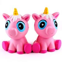 12cm Squishy Unicorn Toys Jumbo PU Unicorn Animal Squishy Slow Rising Toys Manufactures