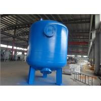 Multi media filter by CS carbon steel pressure tank with rubber liner 72 TPH Manufactures