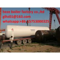 China Stainless Steel 30M3 perlite insulated vacuum cryogenic storage tank for O2,N2,AR on sale