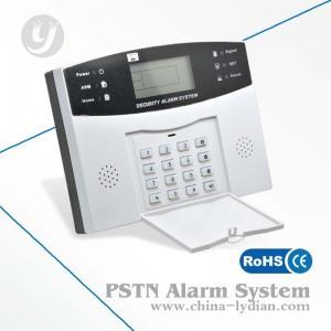 Pstn Gsm Security Alarm System / Intruder Alarm System 32 Wireless Zones Manufactures