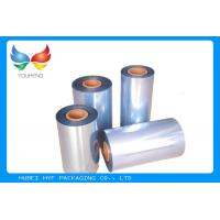 High Clarity PVC Heat Shrink Film Odorless Blown Processing For  Tamper - Evident Bands Manufactures