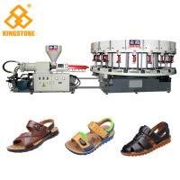 Automatic Sneaker Direct Injection PVC Shoes Making Machine Single Color Manufactures