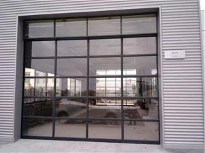 5m Width Insulated Glass Sectional Garage Doors Manufactures