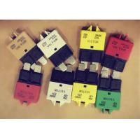 10A 28 Vdc DC Rated Circuit Breakers Hand Reset Button 5A 28Vdc ATC Piggy Back Manufactures