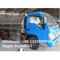 Quality Good quality 8m3 Forland LHD 4*2 stainless steel fresh milk tank for sale, China for sale