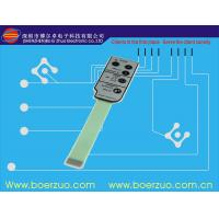 PET / PC 3M Adhesive Membrane Switch Graphic Overlay for Control Panels Manufactures