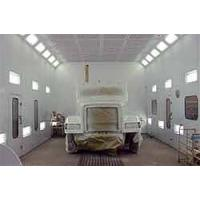 15m spray paint booths, auto paint coating HX-1000 Manufactures