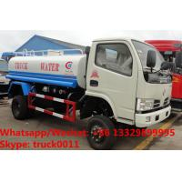 HOT SALE! best selling CLW Brand 4*2 RHD 5cbm water tank truck, Factory sale best price 5,000Liters cistern tank truck Manufactures