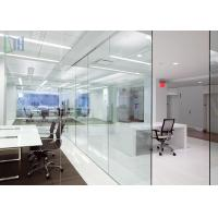 Popular Aluminium Office Partition Soundproof / Heat Insulation For Office Wall Manufactures