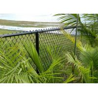 Vinyl coated cyclone fence ,chain wire fence Manufactures