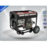 Low Noise Small Portable Generator Set Single Phase 4 Stroke Self - Excitation Manufactures