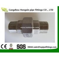 high quality 2 inch npt female thread union stainless steel pipe fitting Manufactures