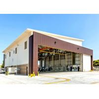 Air Force Base Q235B Steel Hangar Buildings With 5 Ton Crane System Manufactures