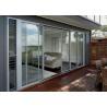 Luxury Aluminium Sliding Doors Size Customized Heat Insulation For Interior Manufactures