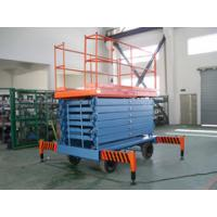 Buy cheap 9 Meters Hydraulic Mobile Scissor Lift with 500Kg Loading Capacity from wholesalers
