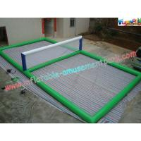 China Commercial Inflatable Water Toys / Water Volleyball Set For Adults , Childrens on sale