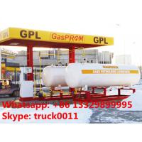 26ton skid-mounted lpg gas filling plant, hot sale 26metric tons skid lpg filling station with automatic lpg dispensers Manufactures