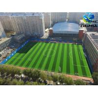 China FIFA Standard PE Foam Two Sides Grooved Shock Pad Underlay For Artificial Grass Padding 8-30 Mm  no absorbing water on sale