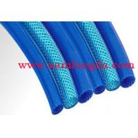 High pressure PU braid air hose , PU Tube for compressed air system, W.P. Max 15bar, blue colour Manufactures