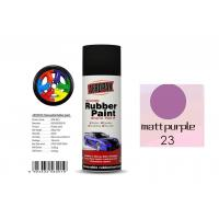 High Efficiency Rubber Coat Spray Paint Matt Purple Color For Wood Manufactures
