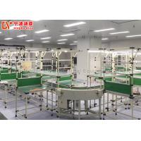 Quality Roller Track Assembly Line Conveyor , Flexible Assembly Line For Working Tables for sale
