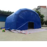 Quality White Blue Dome PVC Tarpaulin Inflatable Party Tent With Any Kind Of Size for sale