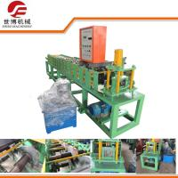 Galvanized Colored Steel Plate Rolling Machine , Door Frame Making Machine Manufactures