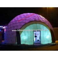 Quality Custom Outdoor Air Tight Inflatable Dome Tent / Inflatable Party Tent for sale
