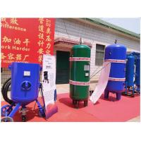 Large Capacity Vertical Air Receiver Tank With Flange Connector Medium Pressure Manufactures