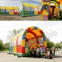 Giant Animal Children Inflatable Amusement Park With CE Certification Manufactures