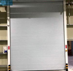 3m Height 0.8mm Heat Insulation Aluminium Roller Shutter Doors Manufactures