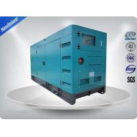 100kw 50Hz Canopy Generator Set , Cummins Diesel Engine Generator Set For Commercial Manufactures