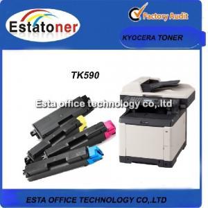 4 Pack Monochrome Color Kyocera Taskalfa Toner TK 590 For FS-C 5250 Manufactures