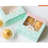 Eco Friendly Paper Packaging Fast Food Rectangle / Square With Open Window Manufactures