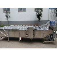 Bar - Type Vegetable Washing Machine , Canned Sweet Corn Processing Machine Manufactures
