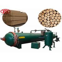 Pressure Wood Impregnation Machine , 12m Creosote Wooden Pole Treatment Plant Manufactures