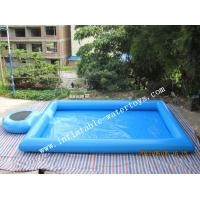 Blue Step Inflatable Water Swimming Pools Above Ground Salt Water Pool Manufactures