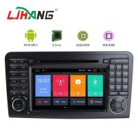 GPS Rear Camera AUX USB Port Mercedes Benz Navigation DVD Player With Car Radio Manufactures