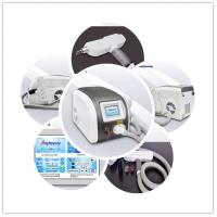 Three Treatment Heads Nd Yag Laser Tattoo Removal Machine 500w Strong Power Manufactures