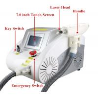 40 - 1200MJ Q Switch Laser Tattoo Removal Machine Portable For Pigment Removal Manufactures