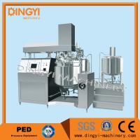 Hydraulic Lifting Vacuum Emulsifying Mixer 750L Capacity SUS304 For Lotion Manufactures