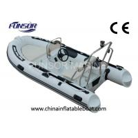Heavy Duty Durable 5 Person Inflatable RIB Boats With YAMAHA Motor Manufactures