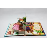 Quality Christmas Greeting Card Pop Up Children Book Printing Service OED With 3D for sale