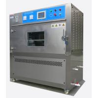 Professional UVA / UVB Lamp UV Aging Test Chamber With Overload Short Circuit Manufactures